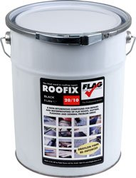 Roofix 20/10 Black 5 Ltr GREAVES&CO