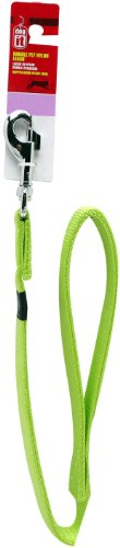 Dogit Nylon Double Ply Dog Leash with Silver Plate Bolt Snap