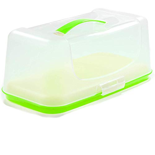 - DecorRack Bread Box, Bread Keeper, Container Server -BPA Free- Green