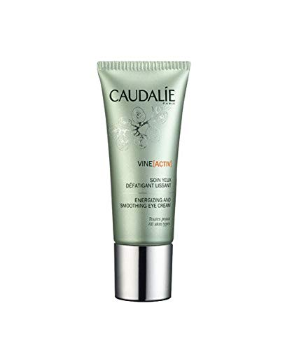 Caudalie Vine[activ] Energizing and Smoothing Eye Cream. Concentrated Eye Cream Alleviates Dark Circles, Wrinkles and Crows Feet for a Refreshed, Energetic Look (0.5 oz / 15 mL)