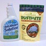 Dust Mite & Flea Control, 8 oz, with Anti-Allergen Solution, 32 oz