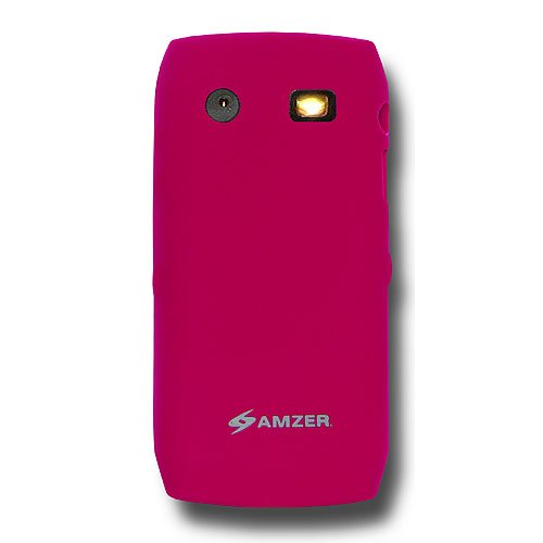(Amzer Silicone Skin Jelly Case for BlackBerry Pearl 9100/9105 - Hot)