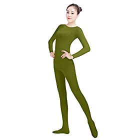 - 31TRfHjm1 L - Womens Lycra Spandex One Piece Unitard Full Bodysuit Zentai Suit Costume