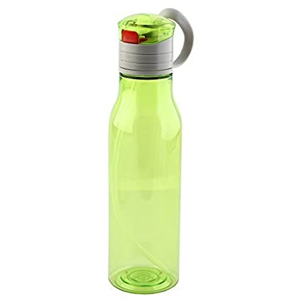eDealMax Botella Deportes plástico al aire Libre de agua de paja, portátil Taza jugo de