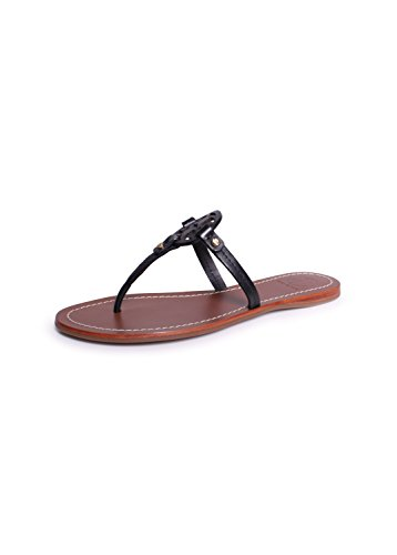 Tory Burch Flip Flop Mini Miller Flat Sandal leather