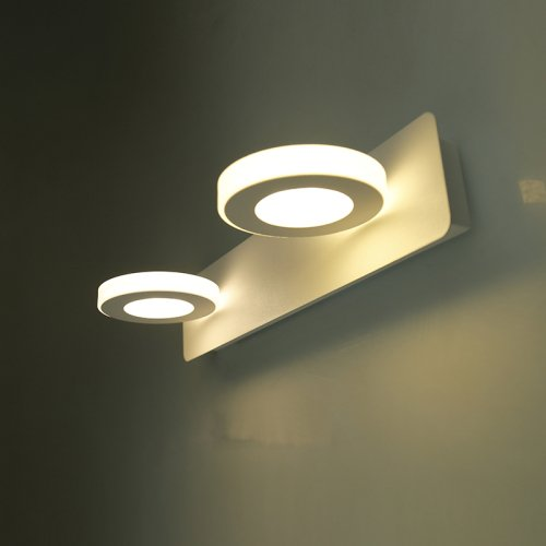 LightInTheBox 6W LED Bathroom Lighting Modern/Contemporary LED Integrated Metal Wall Light Wall Mounted Lighting Fixture (Warm White)
