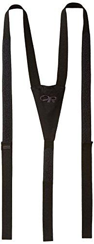 - Outdoor Research Men's Suspenders, Black, 1Size