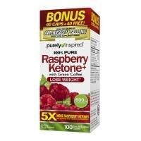 Purely Inspired 100% Pure Raspberry Ketones+, Tablets Pack of 2 from Purely Inspired