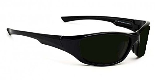 Lightweight Polycarbonate Torching Welding Safety Glasses in Black Viper Safety ()