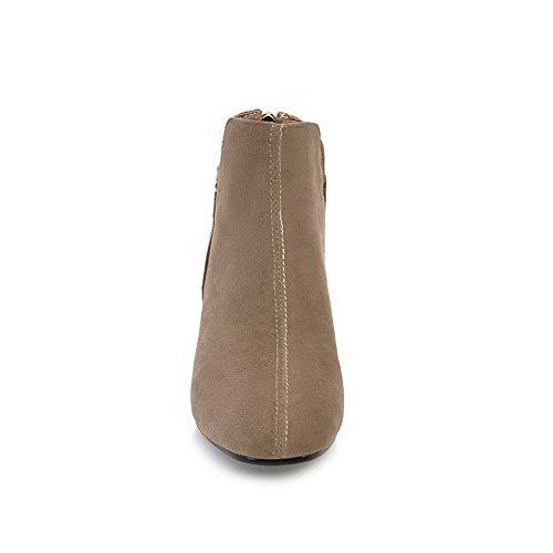 Balamasa Donna Casual Stivali Scamosciati Comfort Antiscivolo Abl10456 Cammello