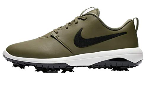 Nike Men's Roshe G Tour Golf Shoes (11.5 M US, Medium Olive/Black-Summit White-Black)