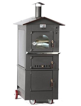OMCAN 43648 Wood Burning Oven With Roof by Omcan