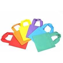 12 bright tote bags -- small