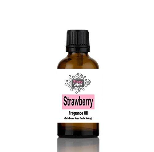 10ml Fragrance Oil - Candle, Bath bomb, Soap, Bath Salts, cosmetic Making fragrant Scent ( 12. Strawberry ) NA