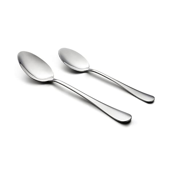 LIANYU 20 Piece Silverware Flatware Cutlery Set, Stainless Steel Utensils Service for 4, Include Knife Fork Spoon… 4