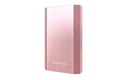 ADATA Cargador Portátil Batería Externa, Color Rosa/Dorado