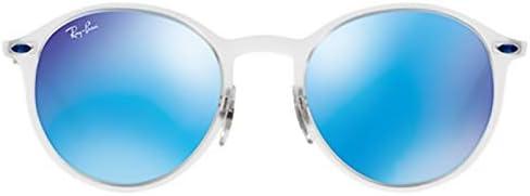 127a5a18ce3e RAY BAN Sunglasses for Male, Blue, 4224 646, 55 49: Amazon.ae