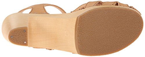 Swedish Hasbeens Pearl Sky High, Scarpe Spuntate Donna Beige (Nature)
