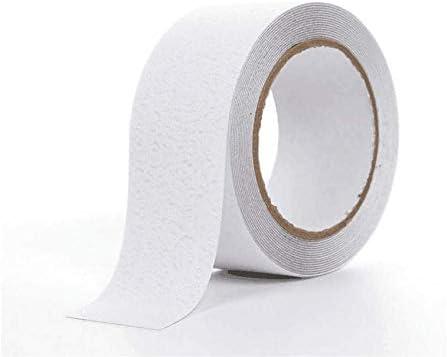 Cinta antideslizante WENTS Antideslizante seguridad cinta Safety cinta antideslizante resistente al agua Fuerte Autoadhesiva para interiores y exteriores 2.5cm/×5m 2 piezas