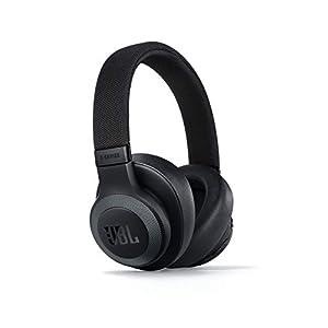 JBL E65BTNC by Harman Wireless Over-Ear Active Noise Cancelling Headphones (Black)