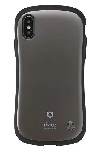 iFace First Class Matte iPhone XS/X ケース [グレー]