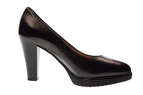 Black Hauts Talons Giardini Chaussures Dcollet 100 P805000d À Nero xaq87w4c