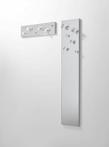 Attaccapanni Verticale A Muro.Ideapiu Idea Appendiabiti Appendiabiti Verticale Da Parete