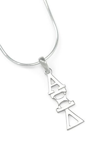 Alpha Xi Delta Sorority Sterling Silver Lavaliere