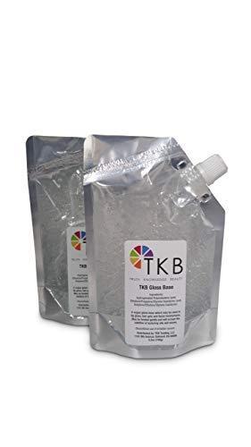 TKB Lip Gloss Base | Clear Versagel Base for DIY Lip Gloss, Made in USA 12 oz (2 of 6 oz bags) ($1.41/oz)