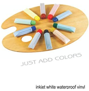 Amazoncom Clear Vinyl Decal Paper Inkjet Pp Arts Crafts - Clear vinyl decal paper
