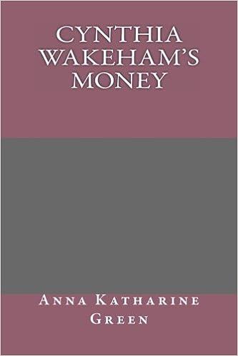 Nuevas descargas gratuitas de libros electrónicos.Cynthia Wakeham's Money 1492228095 PDF ePub iBook