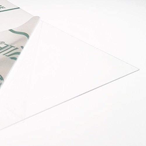 0.5mm Clear Thin PETG Plastic Sheet 7 Sizes to Choose Model Making Dolls House Windows 210mm x 148mm // A5
