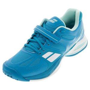 Babolat Propulse todos los corte de la mujer tenis zapatos–azul Azul
