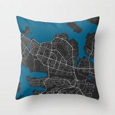 Reykjavik City Map Black…pillow cases decorative 18x18in pillow case (Reykjavik City Map)