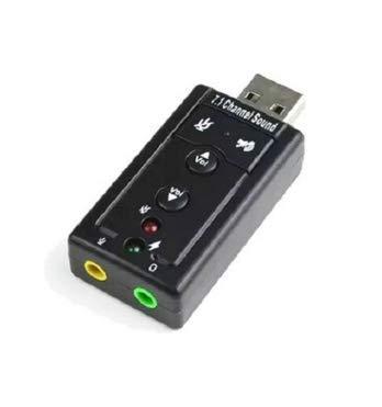 YOUBO 7.1 Canales de Sonido dinámico Externo USB Tarjeta de ...