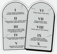 image about 10 Commandments Printable referred to as Review And Memorize The 10 Commandments Free of charge Printable Pack