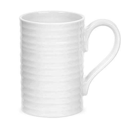 Portmeirion Sophie Conran White Tall Mug, Set of 4 (Renewed)