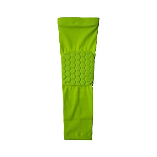 - 1 PCS Sports Basketball Elbow Protectors Breathable Compression Arm Sleeves Elbow Pads Brace Supports Cotoveleira,Green,M