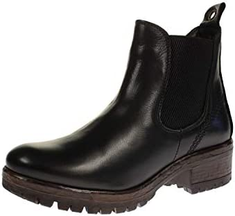 Maca Kitzbühel 2700 - Damen Schuhe Stiefeletten - Nero-Nappa