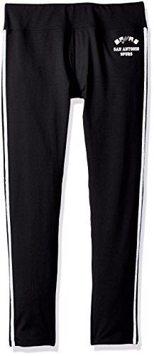 NBA Damen Warm Up Leggings, Damen, Hardwood Classic Warm Up Legging, schwarz, Medium