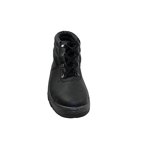 Auda - Calzado de protección de Piel para hombre Negro negro bwdExoU