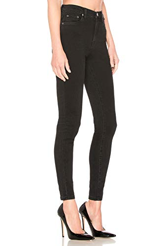 H Pantalon Stretch Femme Taille Haute Skinny Super Dlavage Noir Jean Classique Style Casual HIAMIGOS rA1Wcqfwr