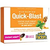 Natural Factors – Echinamide Quick-Blast Liquid-Gel Softchews – 30SG Review