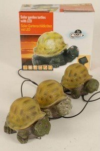 lampe solaire tortue