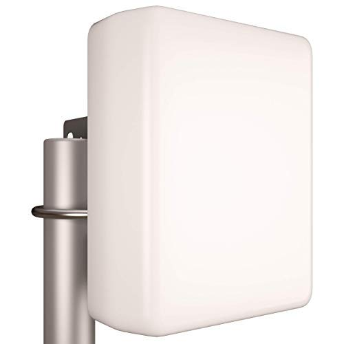 Tupavco TP542 Panel WiFi Antenna - 2.4GHz/5GHz-5.8GHz Range - 13dBi - Dual Band/Multi Band - Outdoor - Directional - Wireless Antenna (2400-2500/5150-5850MHz) by Tupavco