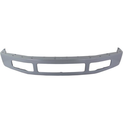 Front Bumper Compatible with FORD F-250 SUPER DUTY/F-350 SUPER DUTY 2008-2010 Paint To Match Steel with Moulding Pad Holes (Paint Front Bumper)
