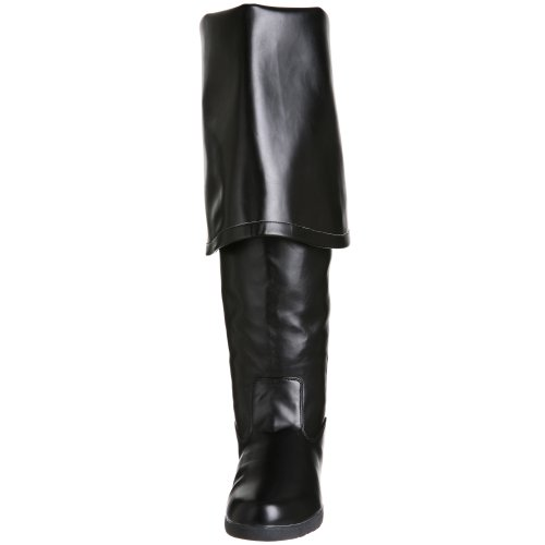 Black Pu Funtasma Pleaser Halloween by Men's Boot Maverick xBaCqYBw