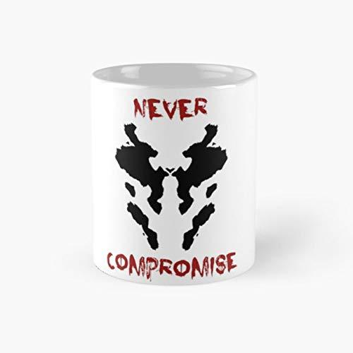 watchmen mask Mug, watchmen Funny Mugs, 11 Ounce Ceramic Mug, Perfect Novelty Gift Mug, Tea Cups, Funny Coffee Mug 11oz, Tea Mugs ()