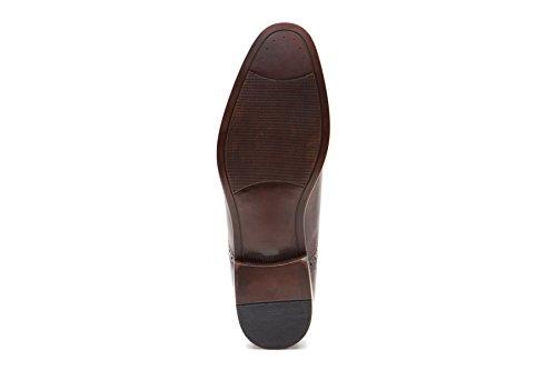 homme Chaussures lacets Tape ville à Marron de Red pour wTq0zxAOO