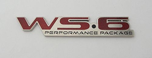 Rear Bumper Emblem (Pontiac Firebird Trans Am WS6 Rear Bumper Badge Emblem)
